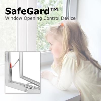 "safegard a""¢ casement window opening control device truth hardware"